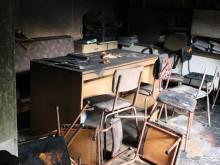 Това са щетите след пожара в пловдивското училище