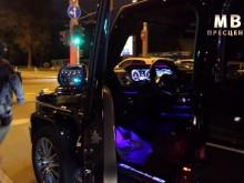 Зрелищен арест на столична улица, устроиха засада на луксозен джип