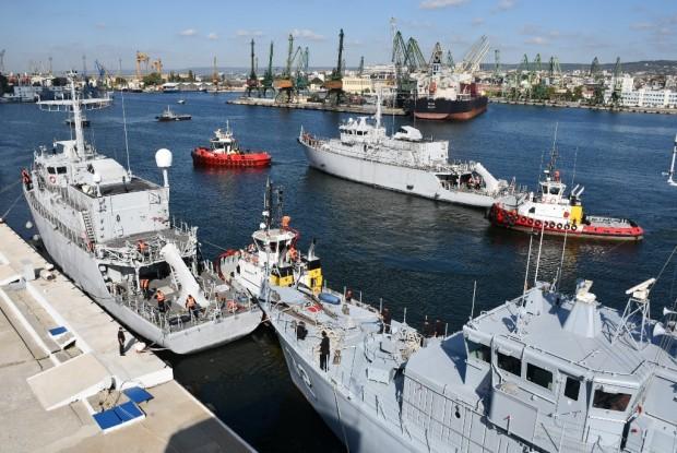 Вчера, 23 септември 2020 година новопридобитите минни ловци за Военноморските