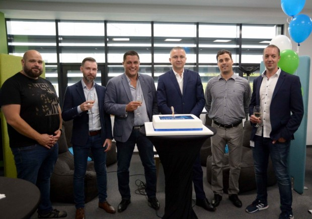 Кметът присъства на откриването на новофис на софтуерната компания Scale