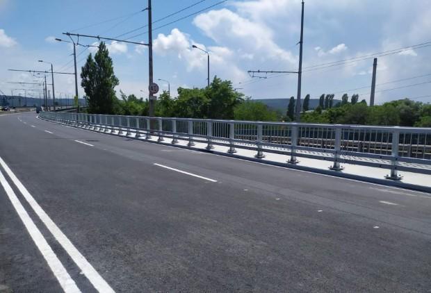 Аспаруховият мост във Варна е в добро общо състояние. Заключението