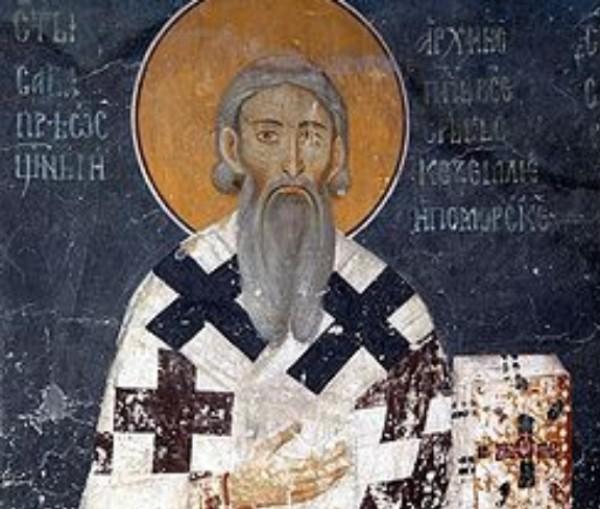 Православната църква чества днес Свети Сава Освещени. Той е роден