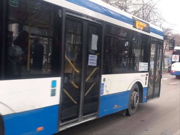 59-годишният водач на автобус от масовия градски транспорт «Соларис», при