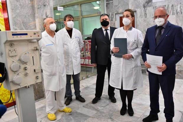 БНРАпелативният прокурор на Варна Владимир Чавдаров и Петко Ганчев -