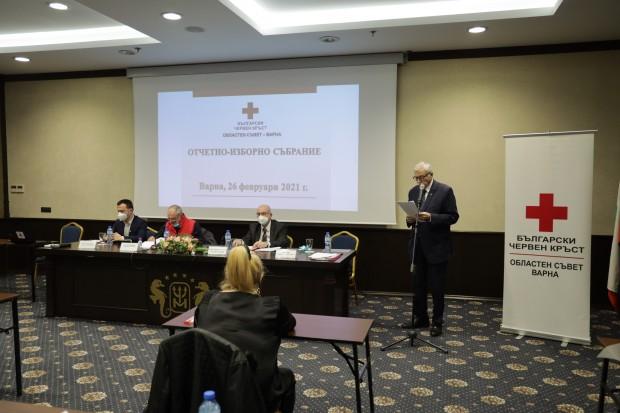 Областната организация на БЧК-Варна отчете дейността си за периода 2017-2020