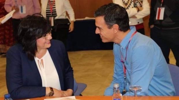 > Корнелия Нинова и Педро СанчесСпомних си срещите на с