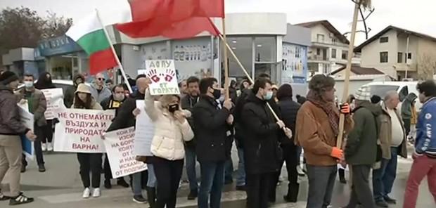 Нов уикенд на протест във Варна. За пореден път се