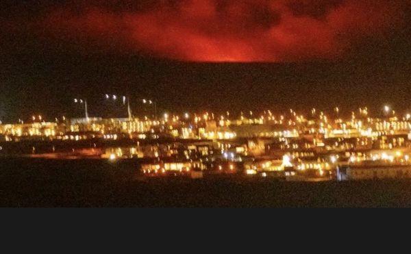 ТуитърВулканично изригване започна в Югозападна Исландия близо до столицата Рейкявик