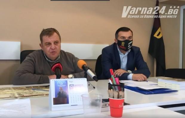 Според Каракачанов, все още част от българските политици имат страхове