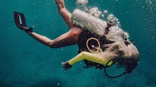 Андреа потъна във водите край Египет, екипирана с кислородна бутилка