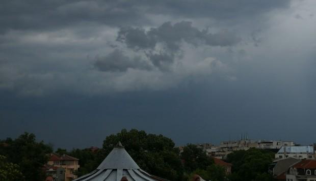 Plovdiv24.bgДнес от запад ще се развива купеста и купесто-дъждовна облачност.