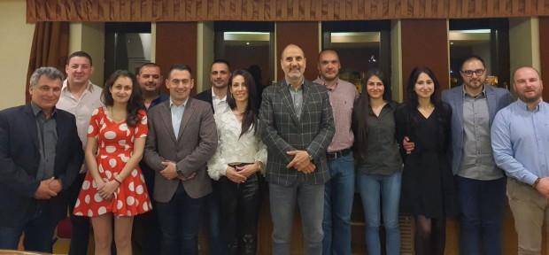 Работна среща проведоха във Велико Търново представители на областната структура