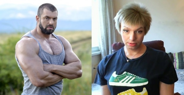 Бащата на културистаТихомир Рангелов, който обяви, че си сменя пола