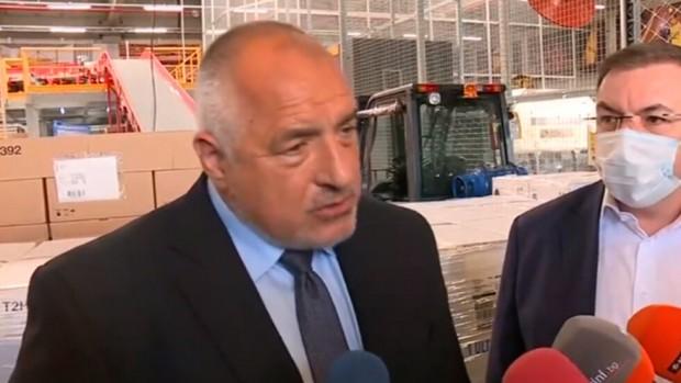 Премиерът в оставка посочи, че в България и третата вълна