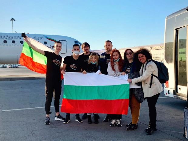 ФейсбукПреди броени минути представителката на България в
