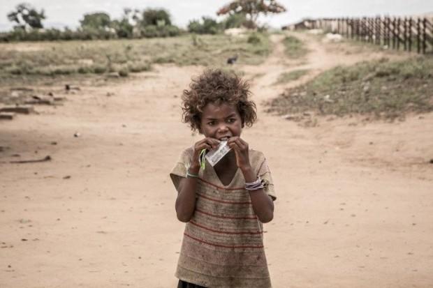 AFP/Getty ImagesВ южната част на Мадагаскар цари най-тежката суша от