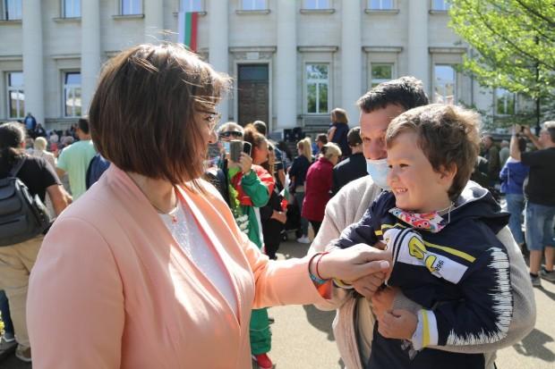 отправи поздравления към българските граждани за настоящия празник на българската
