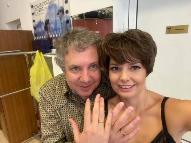 ФейсбукАлександра Сърчаджиева се омъжи и дори се похвали с любопитен