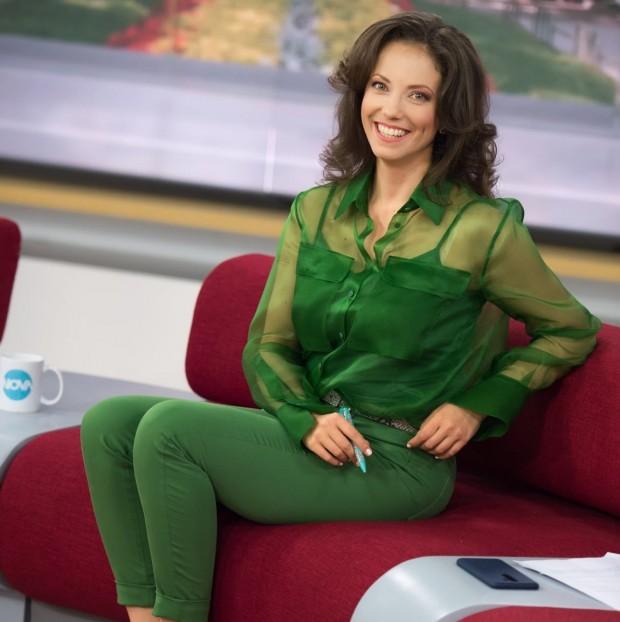 ФейсбукМартина Ганчева се разделя с Нова телевизия. Чаровната водеща се