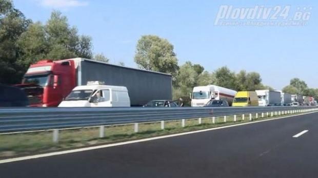 Катастрофа на магистрала