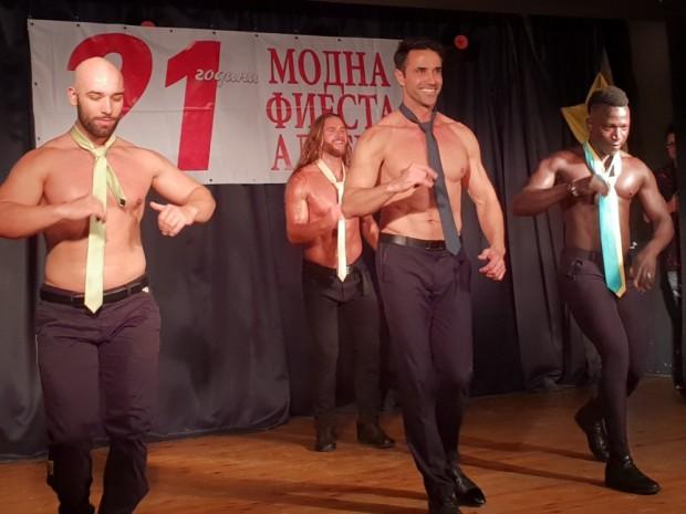Красавецът Диан Христов се изяви като модел, танцьор и певец