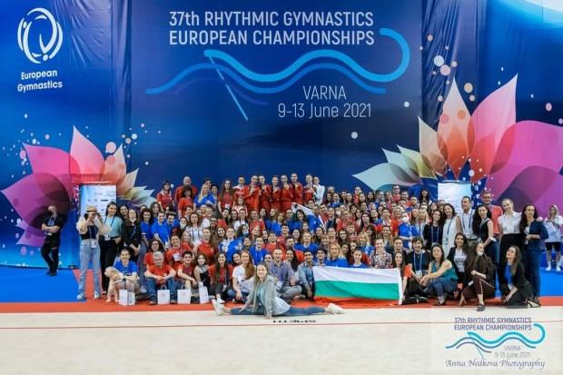 Над 170 доброволци участваха в организацията на 37-мото Европейско първенство