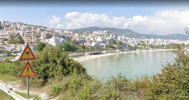 GoogleВчера беше прекрасен ден за плаж в Северна Гърция. Ден