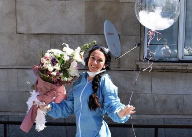 Жената на алпинист № 1 у нас Боян Птеров -