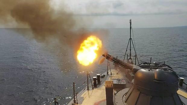 През настоящата седмица четири кораба от състава на Флотилия бойни