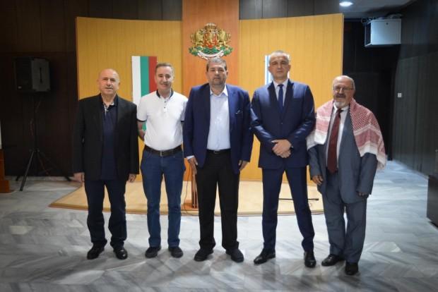 Кметът на Варна проведе среща с делегация от Хашемитско кралство