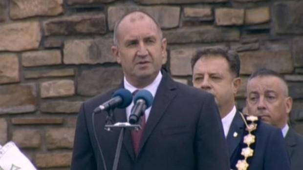 Вярата на българския народ да кове съдбата си със собствените