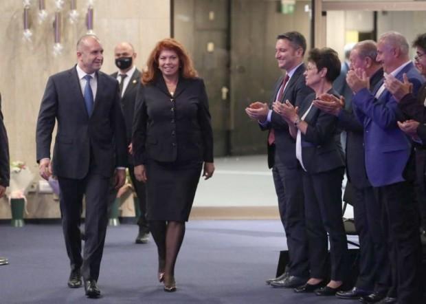 БГНЕС Учредиха Инициативния комитет, койтоиздигна настоящия президент и неговия вицепрезидент Илияна