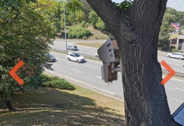 Пътната полиция в България разполага с нов модел камери, които