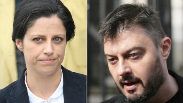 Имената на бившия евродепутат Николай Бареков и съпругата му Мария