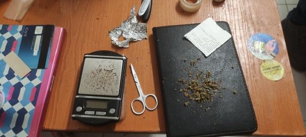 Вчера при специализирана полицейска операцияза противодействие на разпространението на наркотици