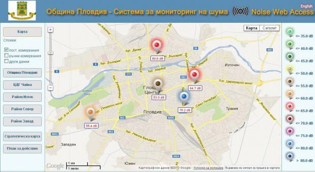 Sledim Onlajn Dannite Za Shuma V Plovdiv