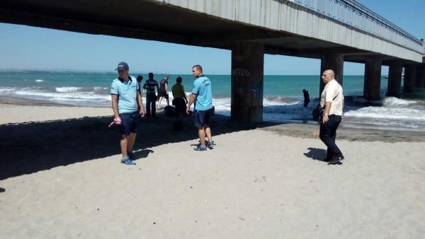 Труп на мъж изплува тази сутрин на бургаския плаж, точно