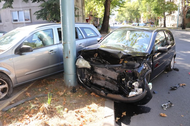 За още една катастрофа в Пловдив днес научи Plovdiv24.bg. Два