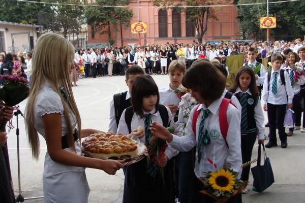 3400 пловдивски малчугани прекрачват училищния праг за първи път днес,