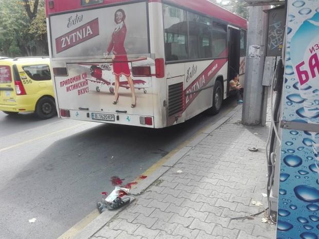 Фейсбук виж галерията За неприятен инцидент научи Varna24.bgот очевидци.Днес на спирката