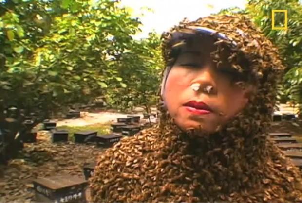 Жена бе нажилена от над 200 пчели. Истинско чудо е,