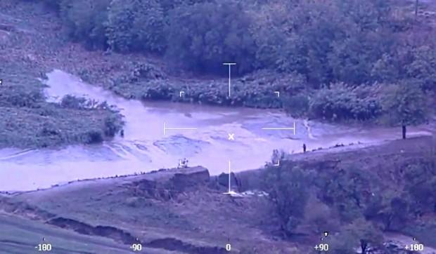 МВР разпространи видео кадри от засегнатите от наводненията райони в