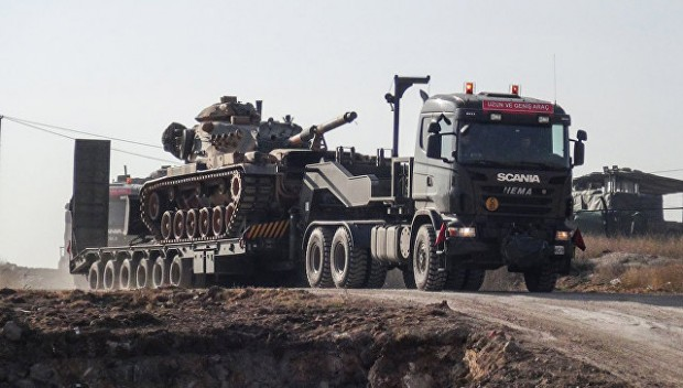 Президентът на Турция Реджеп Ердоган обяви началото на антитерористичната операция