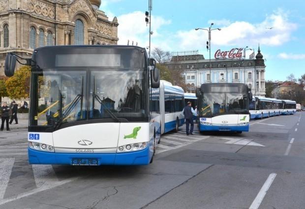 15-те автобуси, с които ще бъде обновен автопаркът на общинския