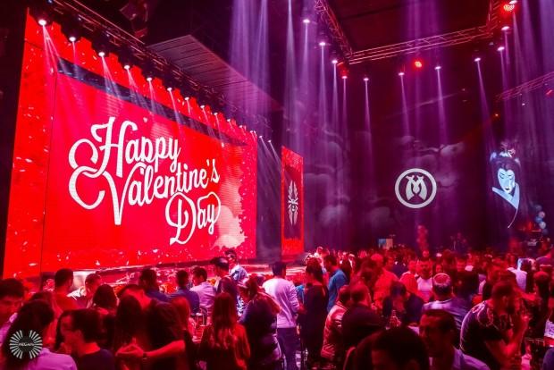 Любовната седмица в Megami Club Plovdiv стартира на Св. Валентин