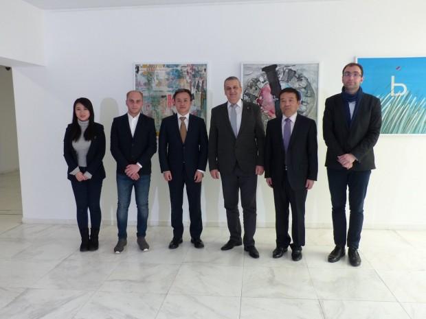 Делегация от Китайската народна асоциация за приятелство между градовете (КНАПГ)