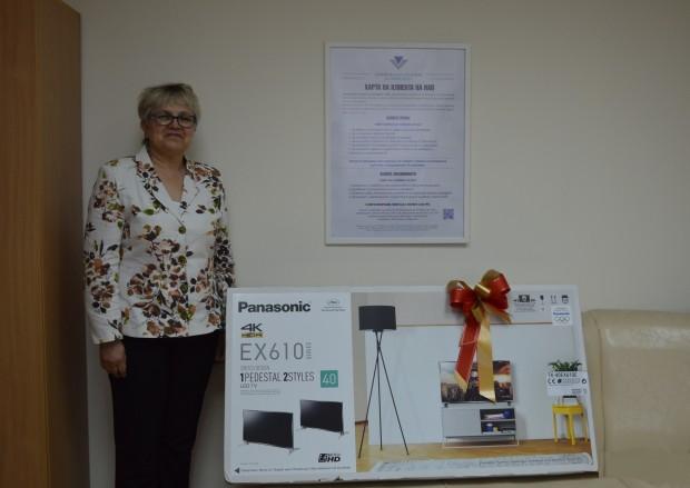 Втората месечна награда 2 000 лв. от лотарията с касови