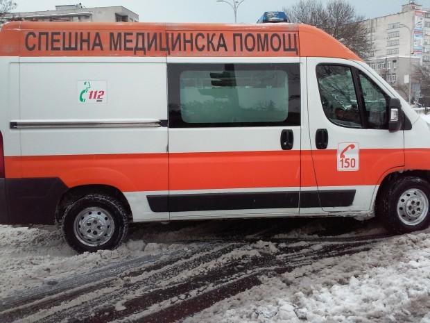 <div Жена е била ранена при катастрофа във Варна на