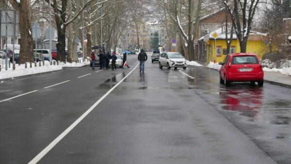 Поради интензивния трафик по бул.