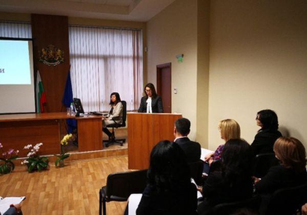 На събитието присъстваха Председателят на Върховен административен съд – съдия